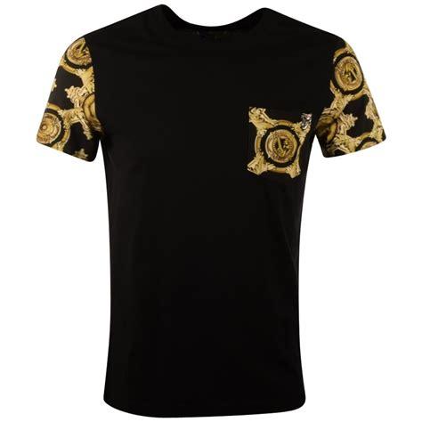 Versace Shirt versace t shirts gold