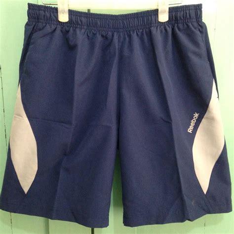 Celana Olahraga Joging jual celana olahraga running reebok cb woven biru dongker size s sportsite