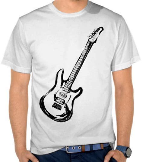 Guitar Listrik jual kaos gitar listrik casual satubaju