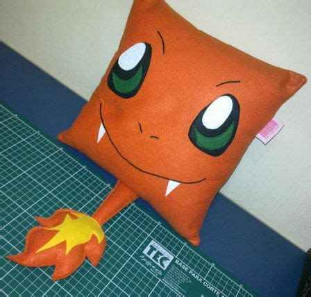 charmander pillow shut up and take money