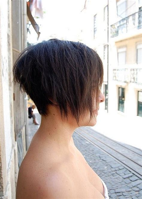 back of short asymetrical haircuts asymmetric bob haircut for summer make up bold looks