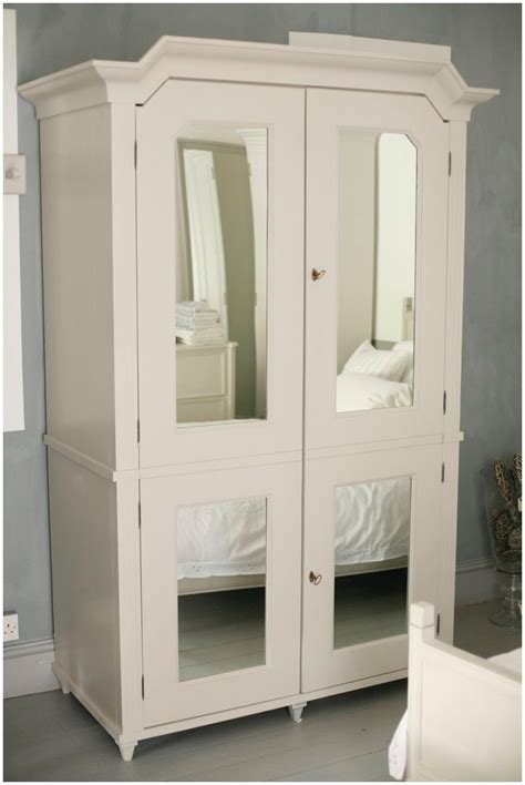 White Wardrobe Armoire by Bedroom Extraordinary White Wardrobe Closet Mirrored
