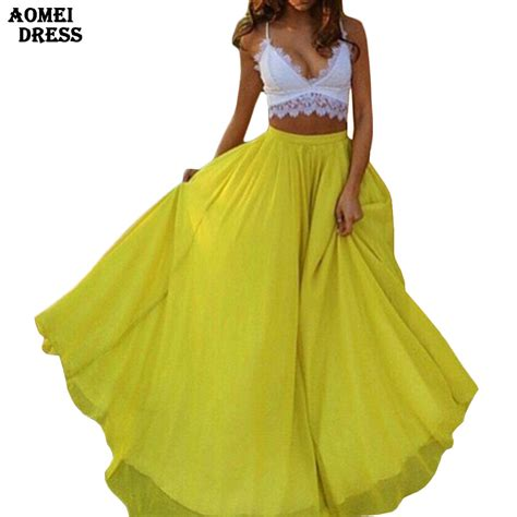 popular yellow skirt buy cheap yellow skirt lots