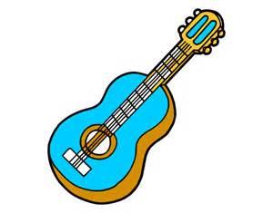 Pics photos dibujos guitarra dibujos animados para colorear disney