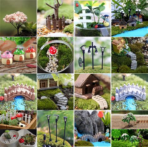 Garden Ornaments And Accessories Galleries by Mini Craft Figurine Plant Pot Garden Ornament Miniature