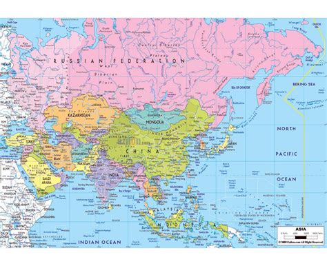 map of countries of asia maps of asia and asian countries political maps road