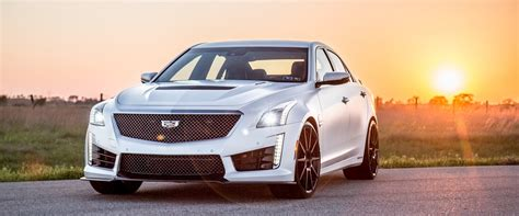 hennessey develops  hp cadillac cts  car news