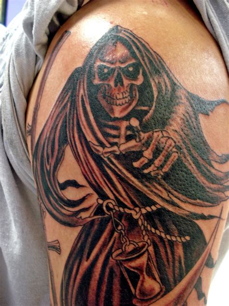 reaper tattoo design grim reaper tattoos info