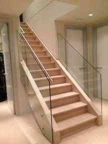 Home Interior Railings glass stair railing design pictures to pin on pinterest