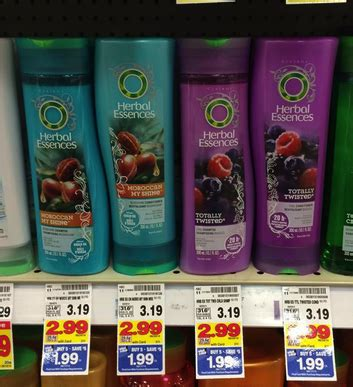herbal essences hair care only 0 49 with kroger mega sale
