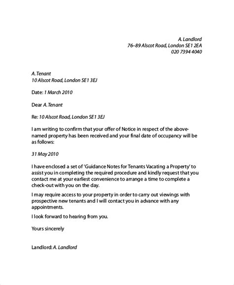 reference letter from landlord template landlord reference letter template business