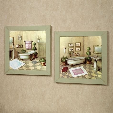 vintage bathroom wall decor accessories for bathroom decoration using vintage retro