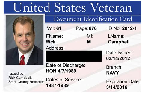 government id card template id cards for veterans pictures to pin on