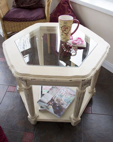 chalk paint glass table best 25 glass table redo ideas on vintage