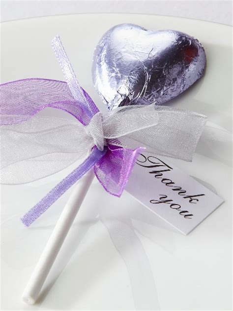 wedding favors lollipops chocolate lollipop wedding favours