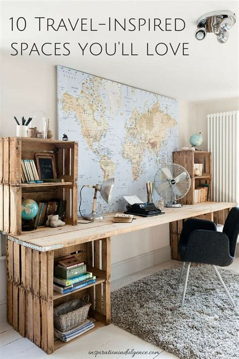 cruise and vacation desk 10 travel inspired spaces you ll love beautiful space