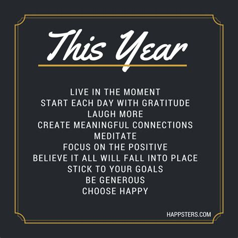 new year s resolutions the happsters