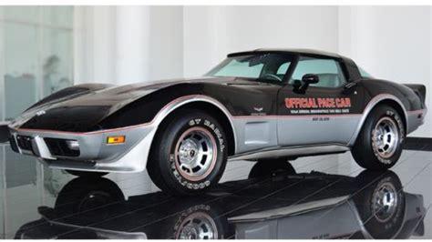 1978 Corvette Indy Pace Car L82 27 000 For Sale Corvette Trader 59 Best 1978 Corvette Pace Car L82 4 Speed Images On Vintage Cars Vintage Classic