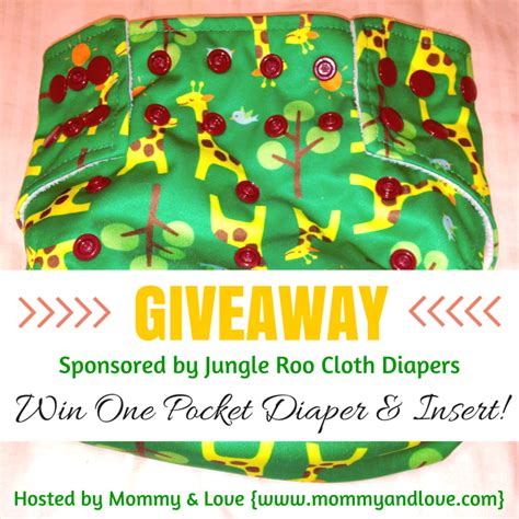 Cloth Diaper Giveaways - latched on mom jungle roo cloth diaper giveaway