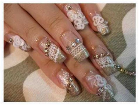 wedding nails bridal nail art ideas bridal nail designs