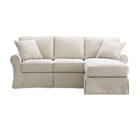 slipcovered sofa with chaise slipcovered sofa with chaise chaise design