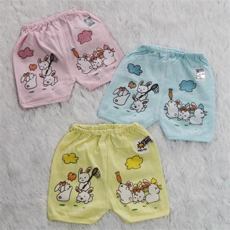 1 Lusin Celana Pendek Bayi Kaos Pe 1 lusin model celana pendek warna cpkw1 grosir baju anak