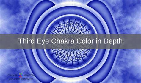 eye chakra color meanings
