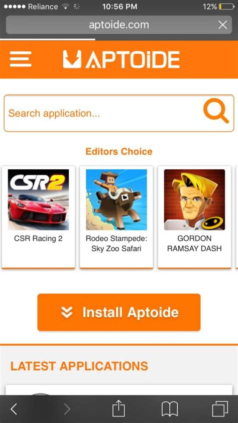 aptoide ios install download aptoide for ios without jailbreak working