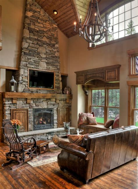 rustic living room design ideas decoration love