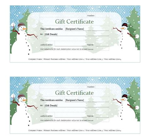 avery certificate templates avery gift certificate template avery gift certificate