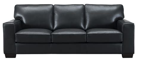 full grain leather sofa kimberlly full top grain black leather sofa