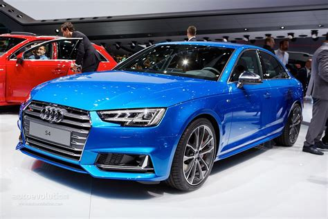 Neuer Audi S4 by All New Audi S4 Sedan Debuts With 3 Liter Turbocharged