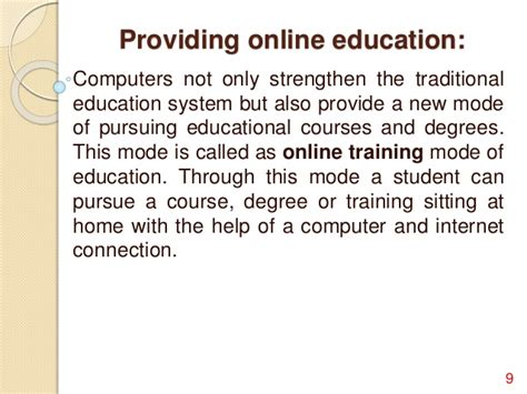 Computer In Education Essay by Importance Of Computer In Education System Freecourseware Web Fc2