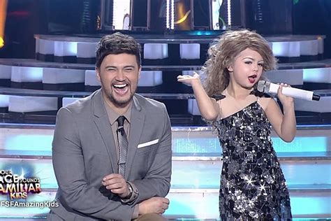 ed sheeran perfect sounds familiar 7 year old nails taylor swift impression on filipino