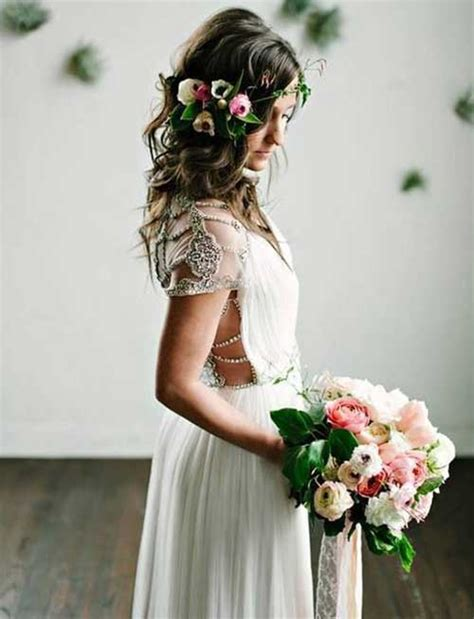 Best Boho Wedding Hairstyles by Wedding Hairstyles For Hair Boho Bridal Inspiration