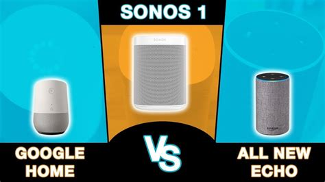 the best smart speaker amazon echo vs google home business insider amazon echo 2 vs sonos one vs google home best smart