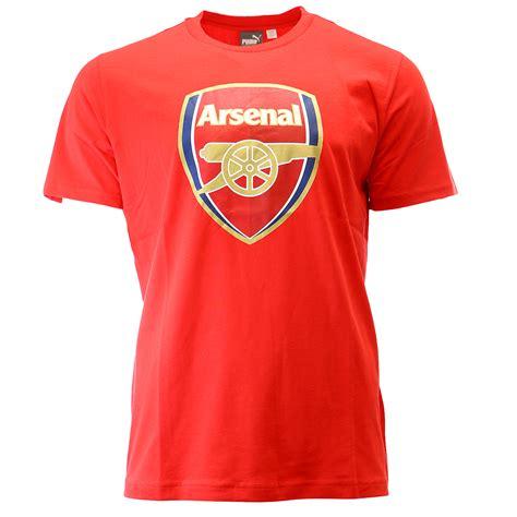 T Shirt Casual Arsenal arsenal crest t shirt soccer fan mens ebay