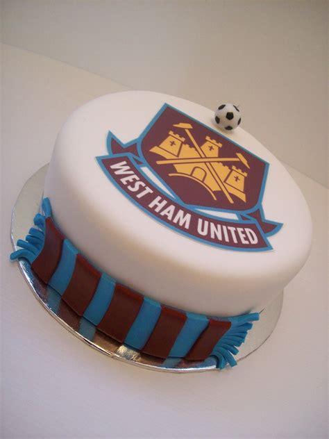 west ham united cake auckland  cake    birthday cakes pinterest west ham hams
