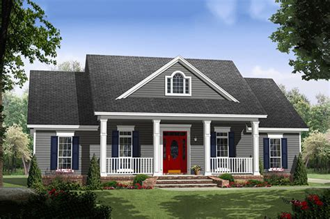 one story colonial house plans escortsea colonial style house plan 3 beds 2 baths 1640 sq ft plan