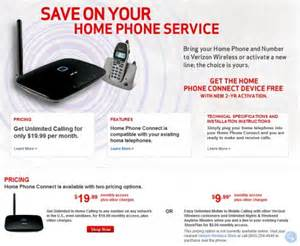 verizon home service verizon wireless expands its home phone connect service