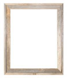 wooden frame 24x30 2 wide barnwood reclaimed wood open frame no