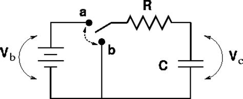 simple resistor capacitor circuit rc circuits