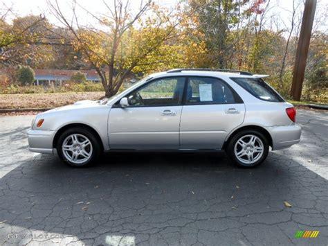 wrx subaru silver platinum silver metallic 2002 subaru impreza wrx wagon
