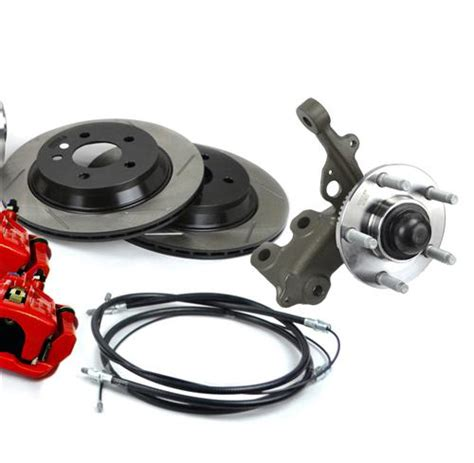 sve mustang 5 lug conversion kit 28 spline 87 92