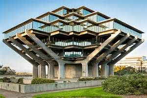Best Home Library Designs In The World Geisel Library Of California San Diego Cus