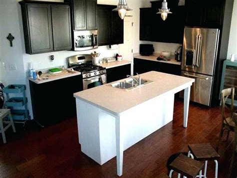 kitchen island with sink white homes