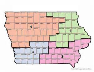 iowa congressional district map for 113th united states