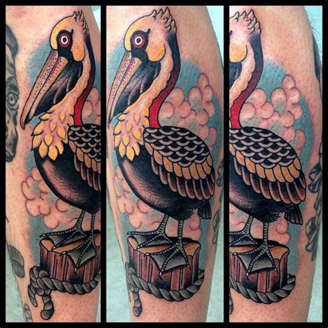 pelican tattoo best 25 pelican ideas on crane