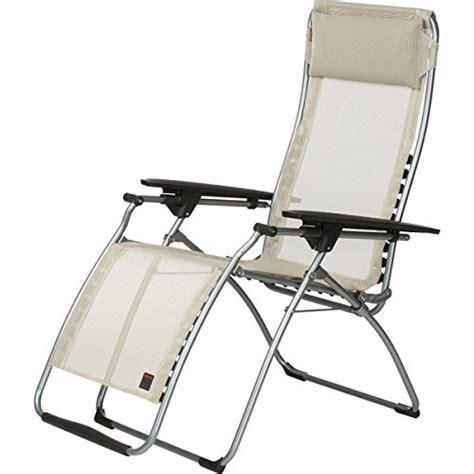 Zero Gravity Patio Chair Lafuma Futura Zero Gravity Recliner Grey Steel Frame