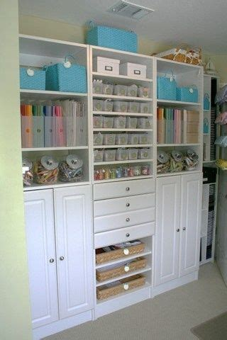 scrapbooking cabinets and workstations scrapbook room by teasha k wow just wow